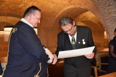 169-Investitur RO Goldenen Sporn Ipolydamásd RK FJO Verleihung Esztergom 09.06.18 - Kopie