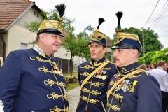 95-Investitur RO Goldenen Sporn Ipolydamásd RK FJO Verleihung Esztergom 09.06.18 - Kopie